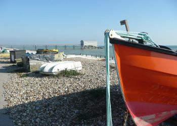 Thumbnail image of Web Placeholder fishing boat and lifeboat station